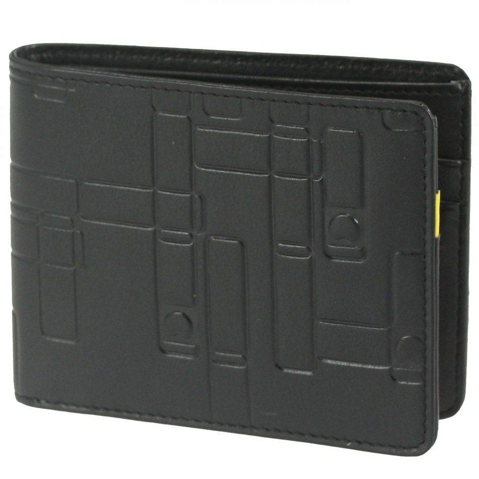 Delsey Echappée Geldbörse Leder 11,5 cm in schwarz