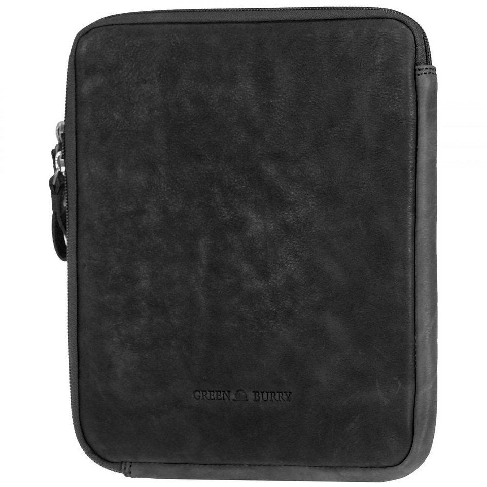 Greenburry Colorado iPad Case Leder 21,5 cm in black