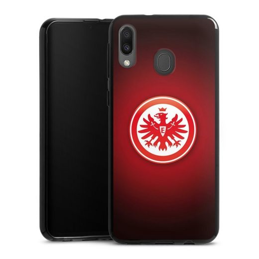 DeinDesign Handyhülle »Eintracht Frankfurt« Samsung Galaxy M20, Hülle Eintracht Frankfurt Offizielles Lizenzprodukt Wappen