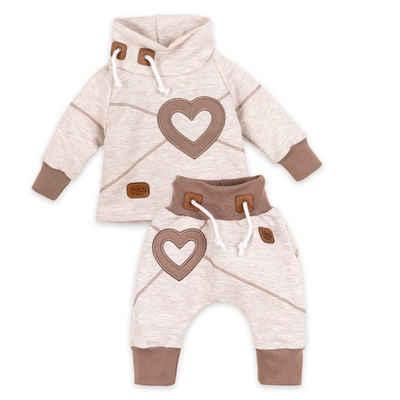 Baby Sweets Shirt & Hose »2tlg Set Shirt + Hose Patchwork Herzen« (2-tlg)