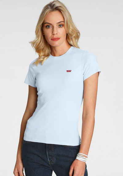 Levi's® T-Shirt »Rib Baby Tee« mit Batwing-Logo-Stickerei