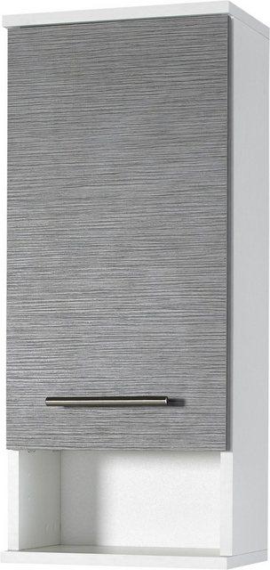 Badezimmer Sets - Schildmeyer Badmöbel Set »Palermo«, (Set, 4 tlg), mit Metallgriffen, verstellbaren Einlegeböden, z.T. wechselbarer Türanschlag  - Onlineshop OTTO