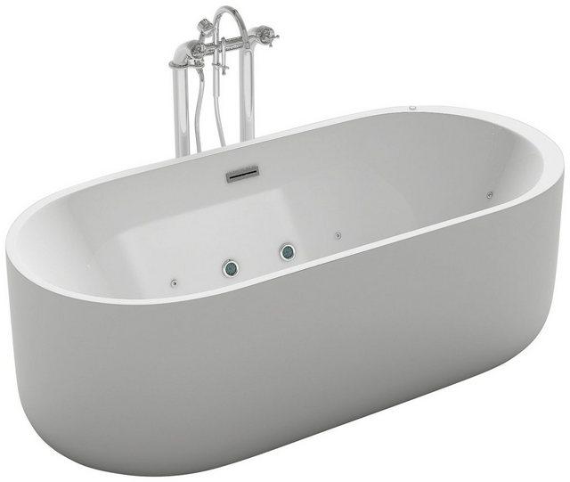 Badewannen und Whirlpools - HOME DELUXE Whirlpool Badewanne »Bola Plus«, (2 tlg), B T H 170 80 58 cm, freistehend  - Onlineshop OTTO