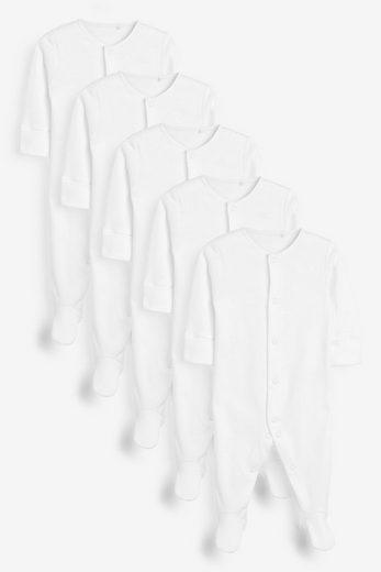 Next Schlafoverall »Basics-Schlafanzüge im 5er-Pack« (5-tlg)