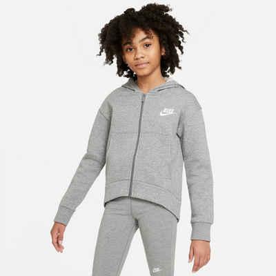 Nike Sportswear Sweatjacke »G Nsw Club Flc Fz Hoodie«
