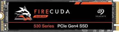 Seagate »FireCuda 530« externe HDD-Festplatte (4 TB) 7.300 MB/S Lesegeschwindigkeit, 6.900 MB/S Schreibgeschwindigkeit, Inklusive 3 Jahre Rescue Data Recovery Services)