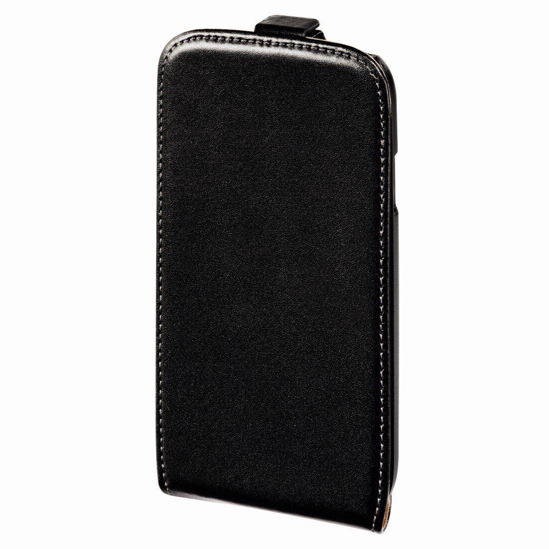 Hama Flap-Tasche Smart Case für Samsung Galaxy S 4, Schwarz