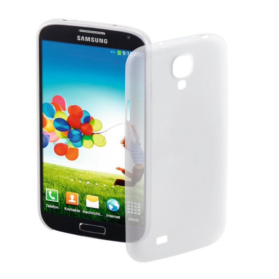 Hama Handy-Cover Ultra Slim für Samsung Galaxy S 4, Weiß in Weiß