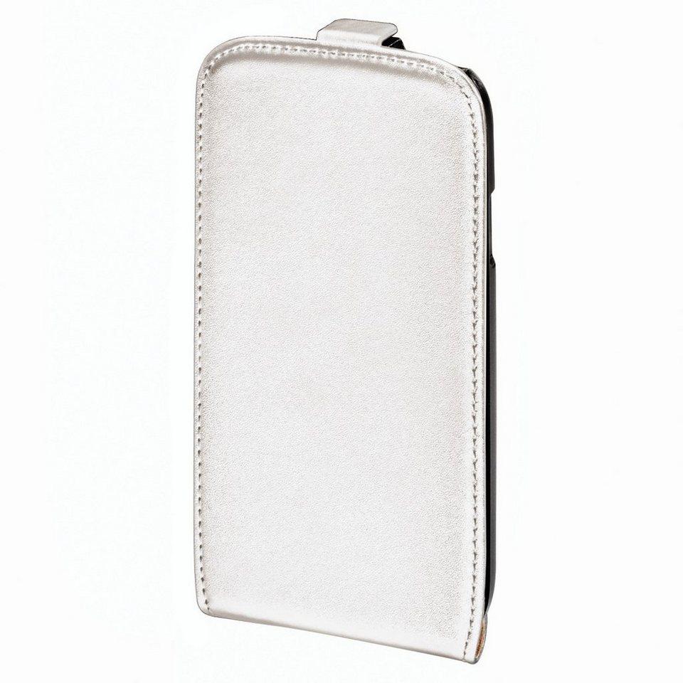 Hama Flap-Tasche Smart Case für Samsung Galaxy S 4, Weiß in Weiß