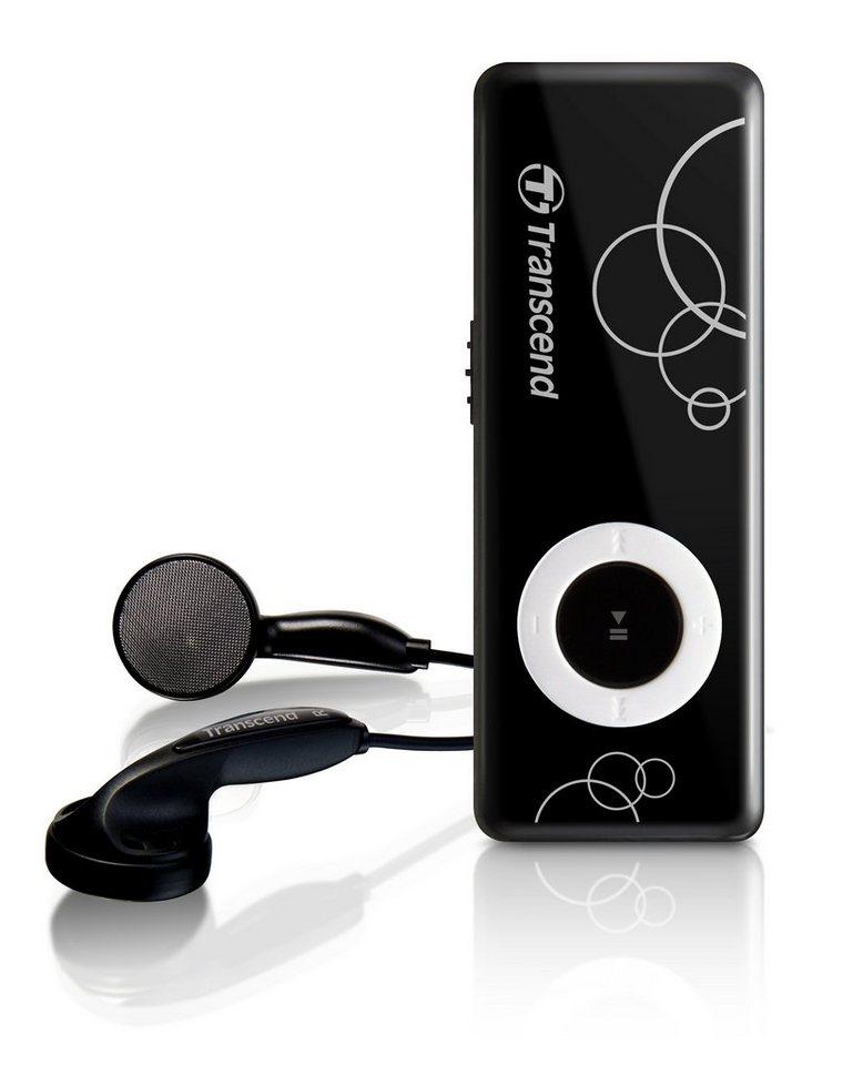 Transcend MP3 Player MP300 8GB Schwarz in black