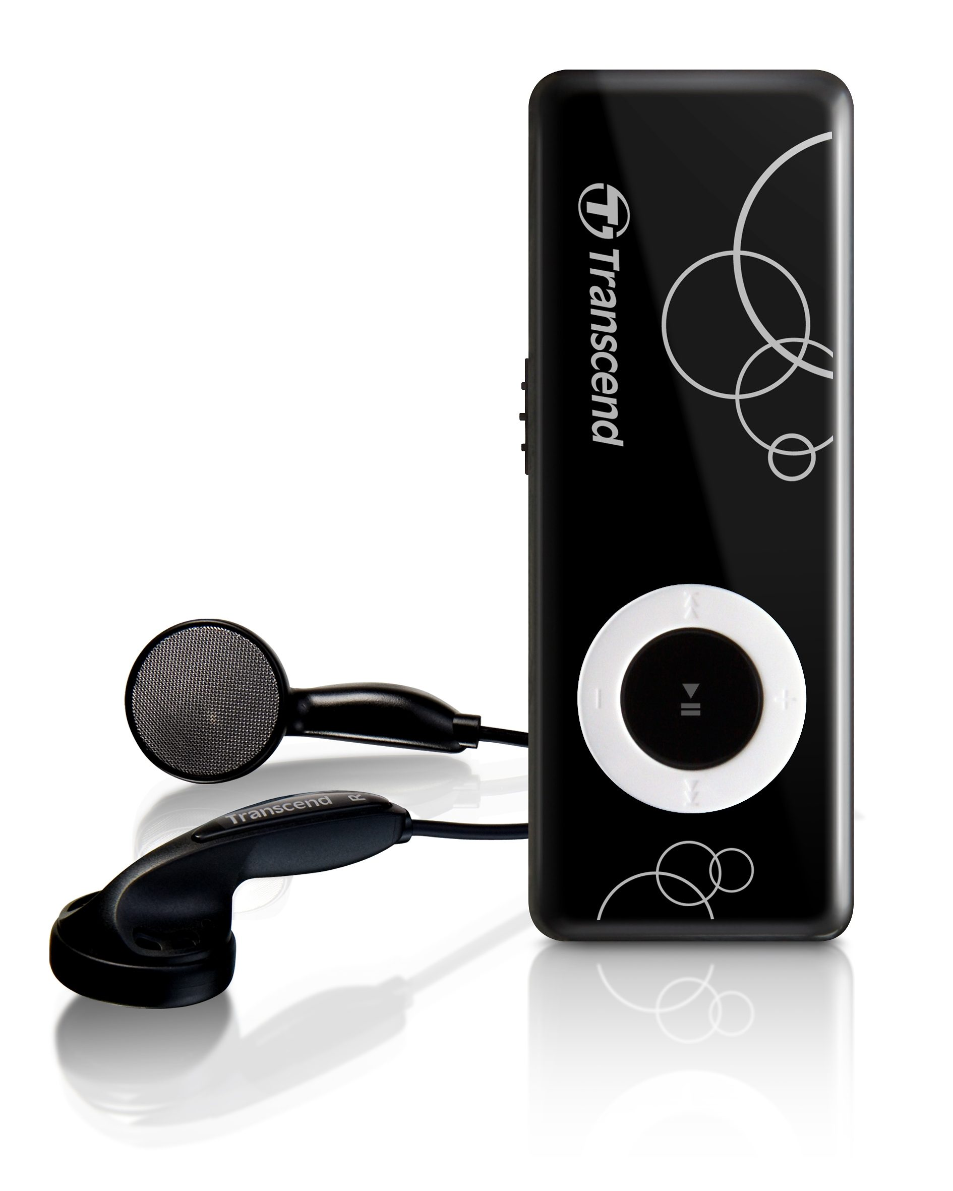 Transcend MP3 Player MP300 8GB Schwarz