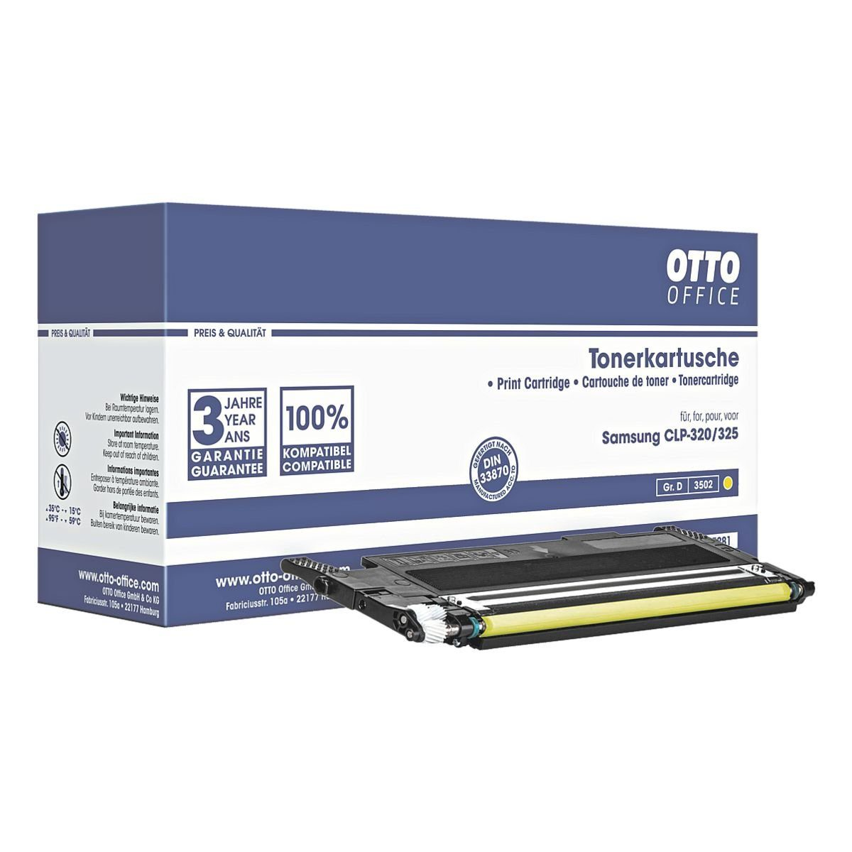 OTTO Office Toner ersetzt Samsung »CLT-Y4072S«