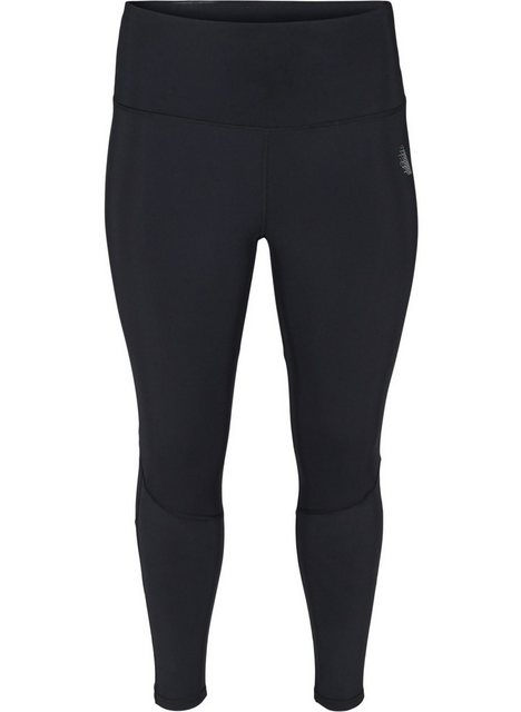 Hosen - Active by ZIZZI Trainingstights Große Größen Damen Hochtaillierte Trainingsleggings mit Mesh und Stretch ›  - Onlineshop OTTO