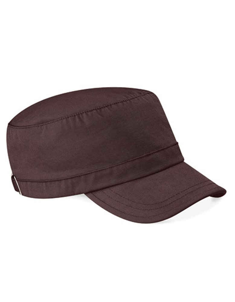 Beechfield® Army Cap »Cuba-Cap Kappe« gewaschene Baumwolle Vorgeformte Spitze
