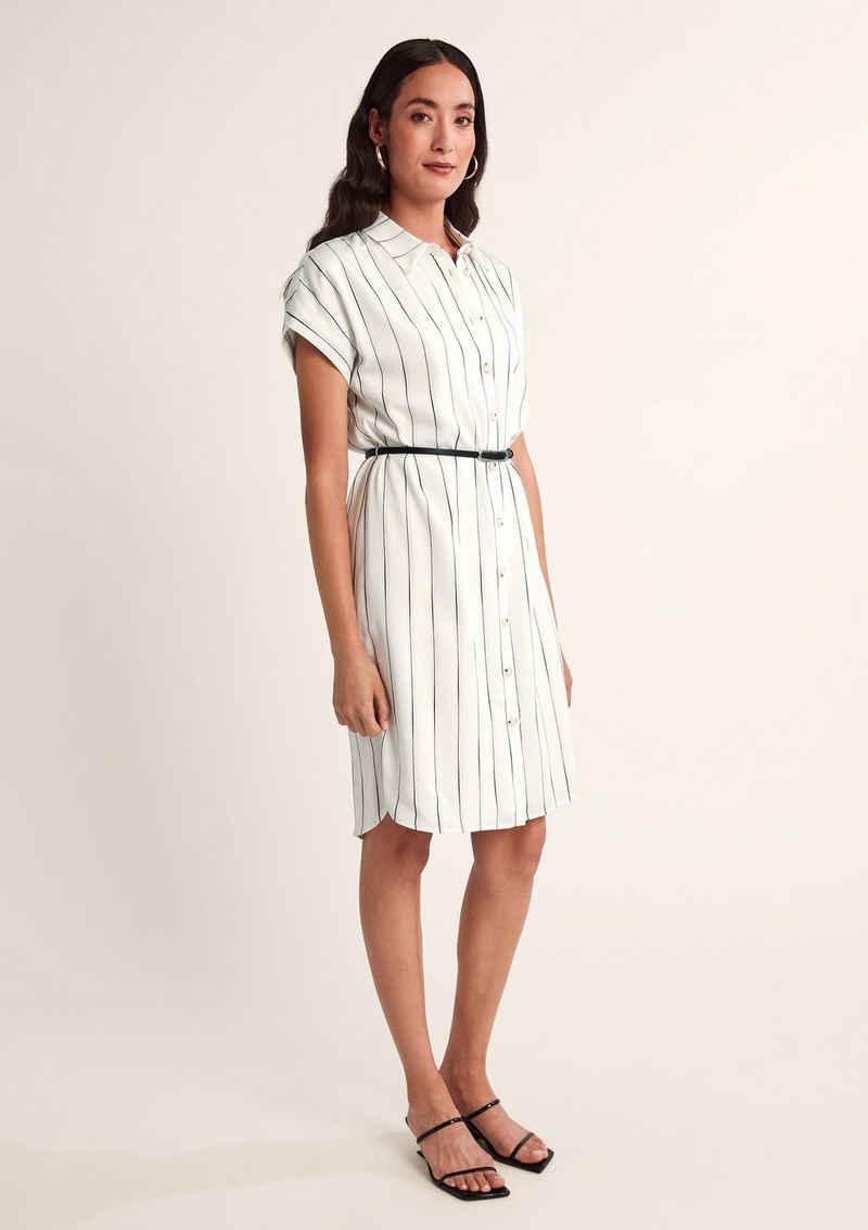Comma Minikleid »Blusenkleid mit Streifen«
