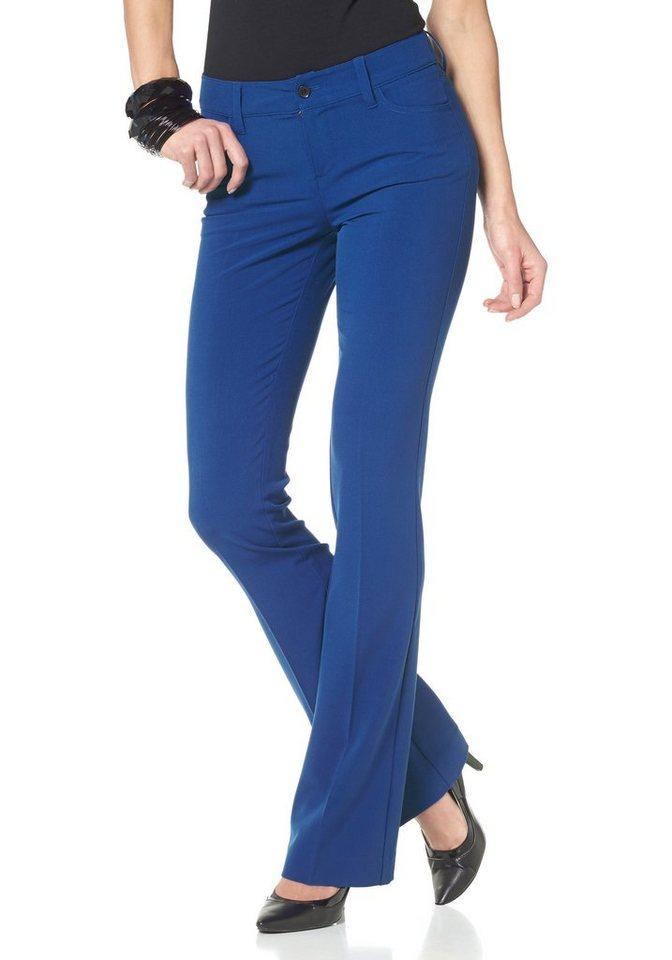 Laura Scott Anzughose leicht ausgestellt in königsblau