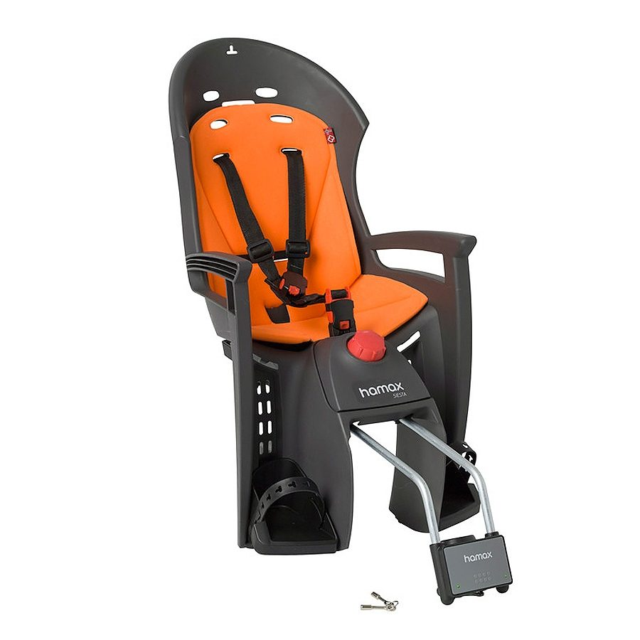 Hamax Kindersitz-System »Siesta Kindersitz grau/orange«
