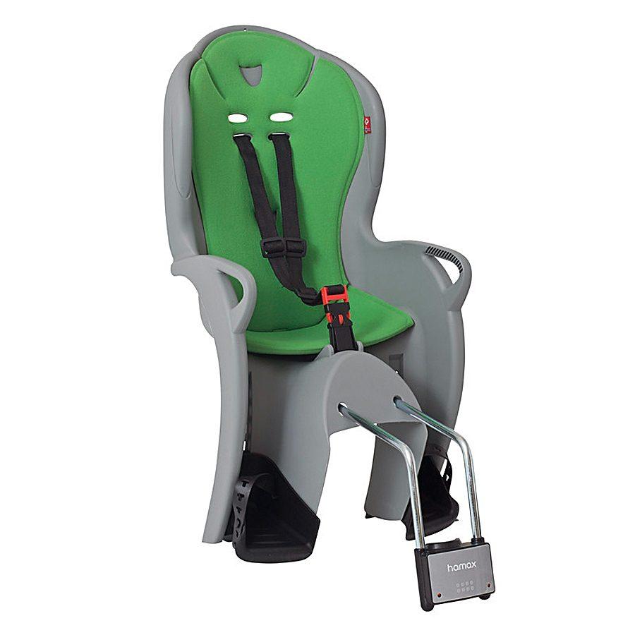 Hamax Kindersitz-System »Kiss Kindersitz grau/grün«