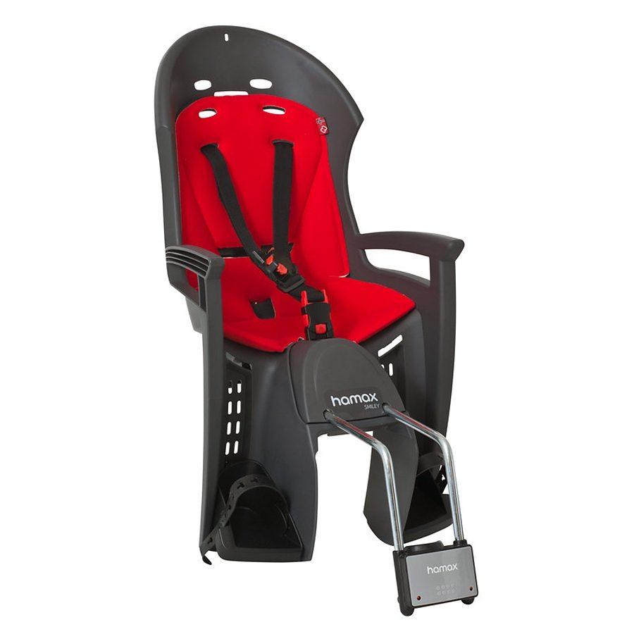 Hamax Kindersitz-System »Smiley Kindersitz grau/rot«