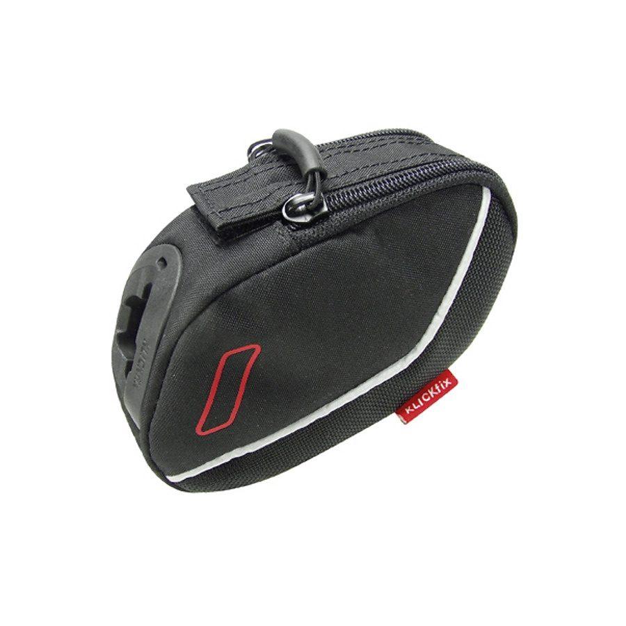 KlickFix Gepäckträgertasche »Integra S Satteltasche schwarz«