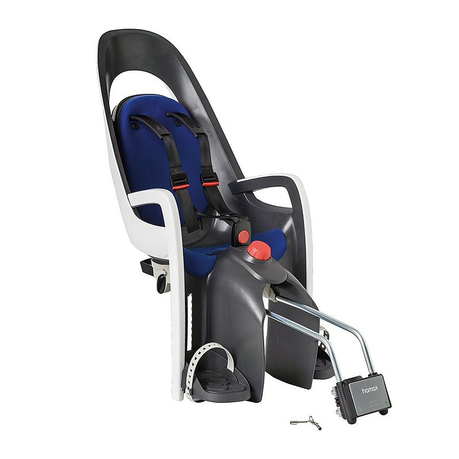 Hamax Kindersitz-System »Caress Kindersitz grau/weiß/blau«