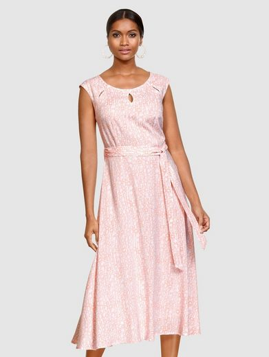 Alba Moda Kleid mit modischen Cut-Outs