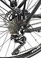 PROPHETE E-Bike Trekking »Entdecker e980«, 28 Zoll, 10 Gang, Mittelmotor, 576 Wh, Bild 8