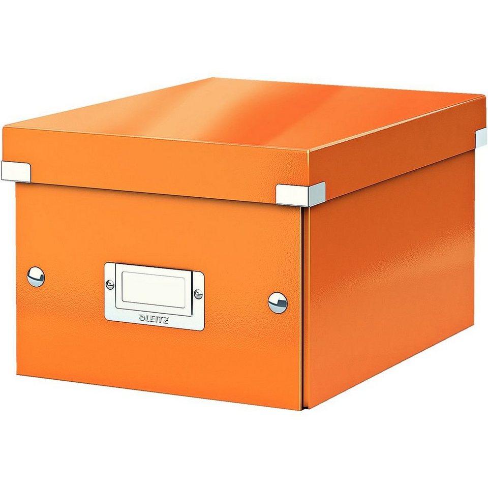 """Leitz Ablagebox """"Click & Store"""" »Klein« in metallicorange"""
