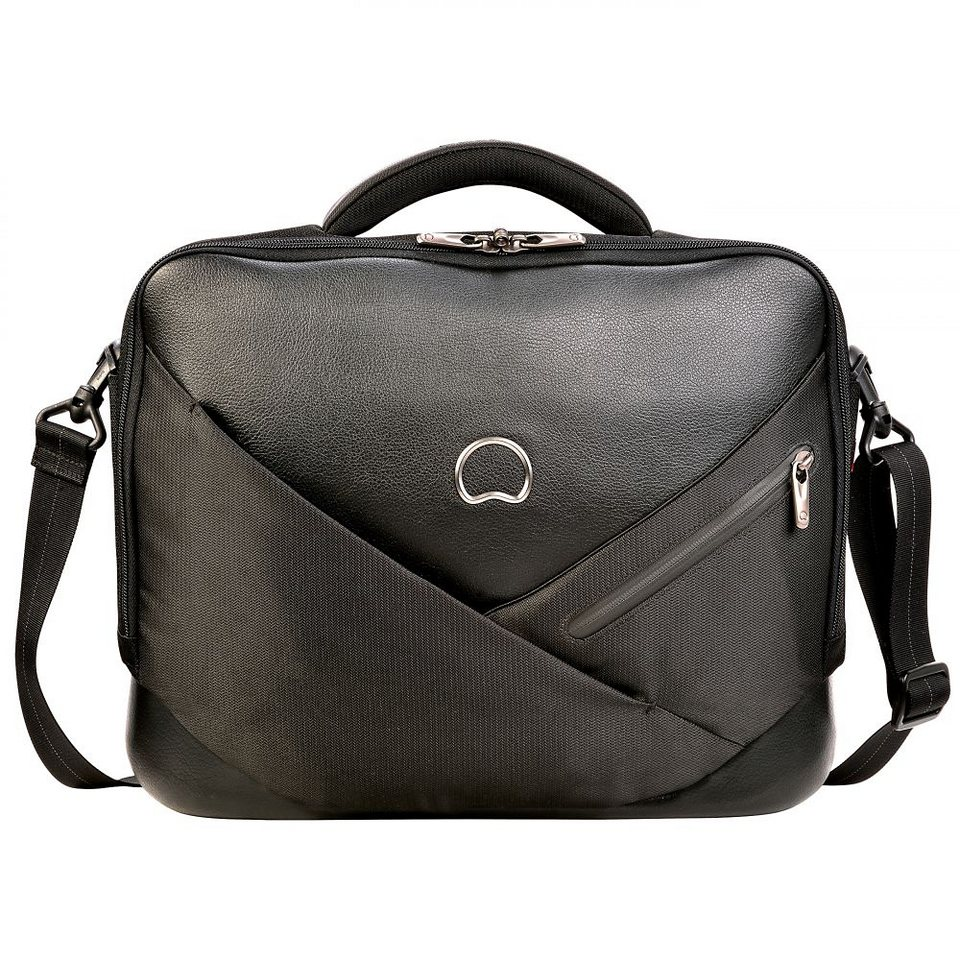 Delsey Palais Royal Laptoptasche 2 Fächer 40 cm in schwarz