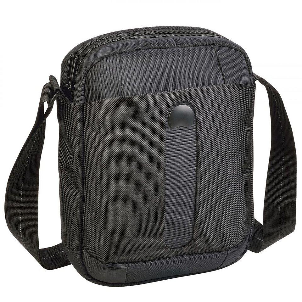 Delsey Bellecour Reporterbag Umhängetasche 23 cm Tabletfach in schwarz