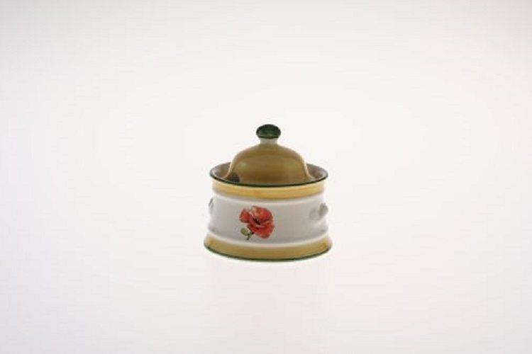 Zeller Keramik Zuckerdose »Kornfeld« in Mehrfarbig