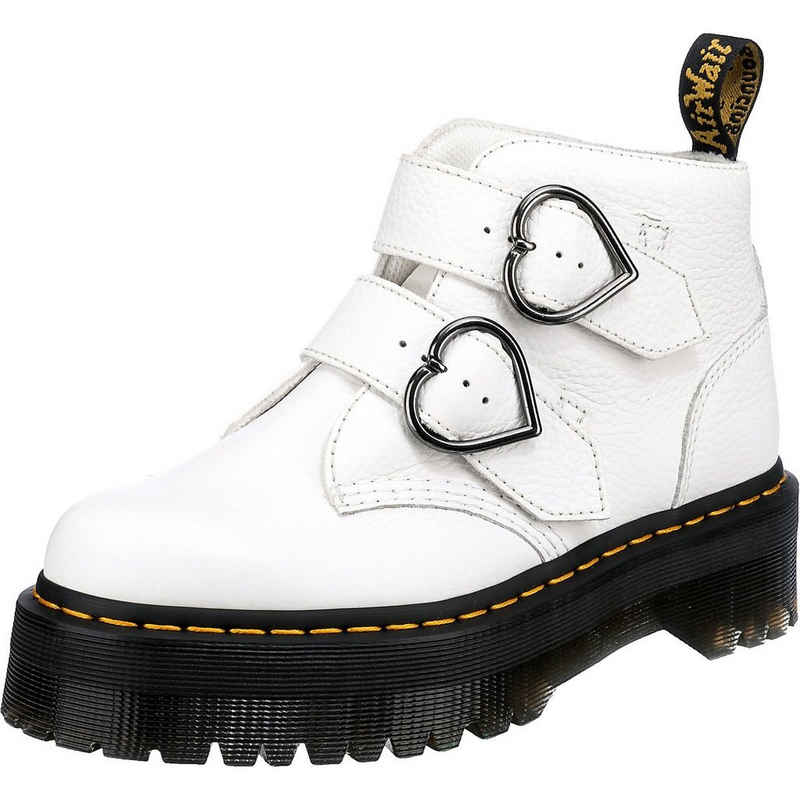 DR. MARTENS »Devon Heart 2 Strap Boot Biker Boots« Bikerboots