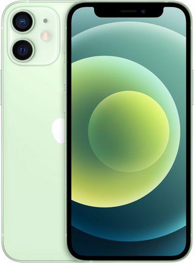 Apple iPhone 12 Mini - 128GB Smartphone (13,7 cm/5,4 Zoll, 128 GB Speicherplatz, 12 MP Kamera, ohne Strom Adapter und Kopfhörer, kompatibel mit AirPods, AirPods Pro, Earpods Kopfhörer)