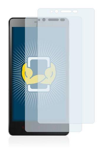 BROTECT Schutzfolie »für Xiaomi Redmi Note 4G«, (2 Stück), Folie Schutzfolie klar