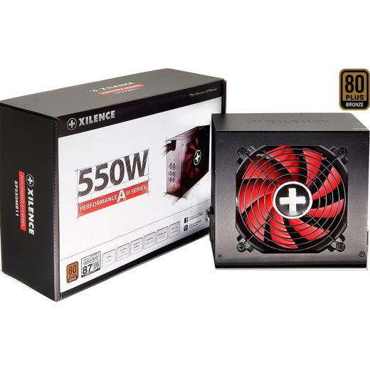 Xilence »Performance A+III 550W« PC-Netzteil