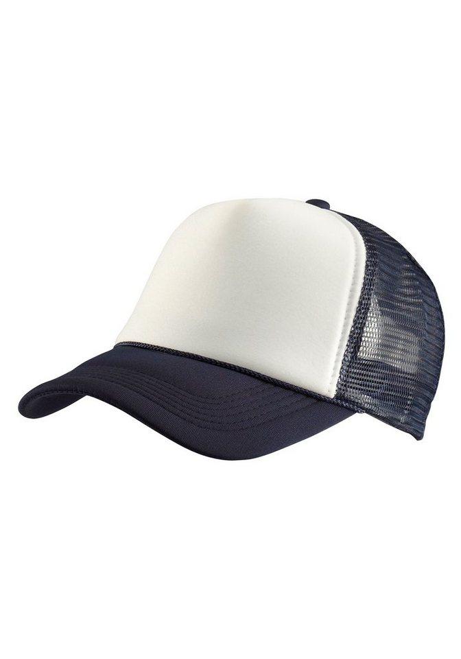 MasterDis Baseball Cap im zeitlosen Design in blau-weiß