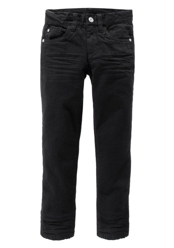 Arizona Regular-fit-Jeans in schwarz