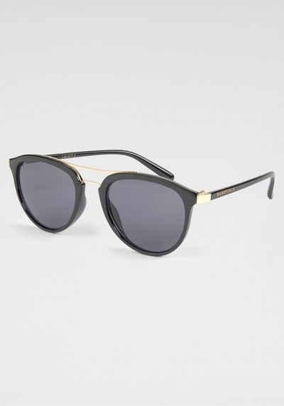 BASEFIELD Sonnenbrille feiner Doppelsteg in Goldoptik