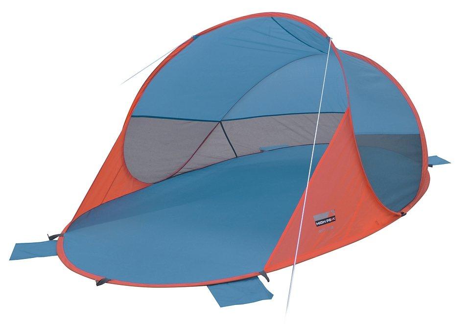 Pop Up Strandmuschel, High Peak, »Mitjana« in orange-blau
