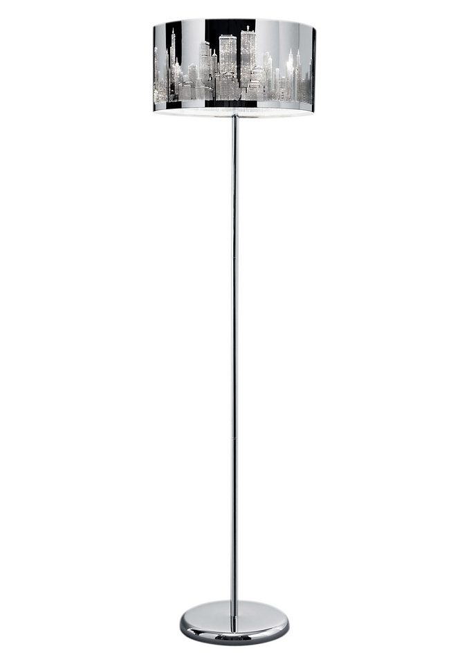 Moderne Stehlampe, Trio (2flg.)
