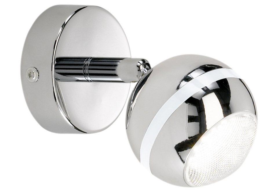 LED-Wandleuchte, Trio in silberfarben