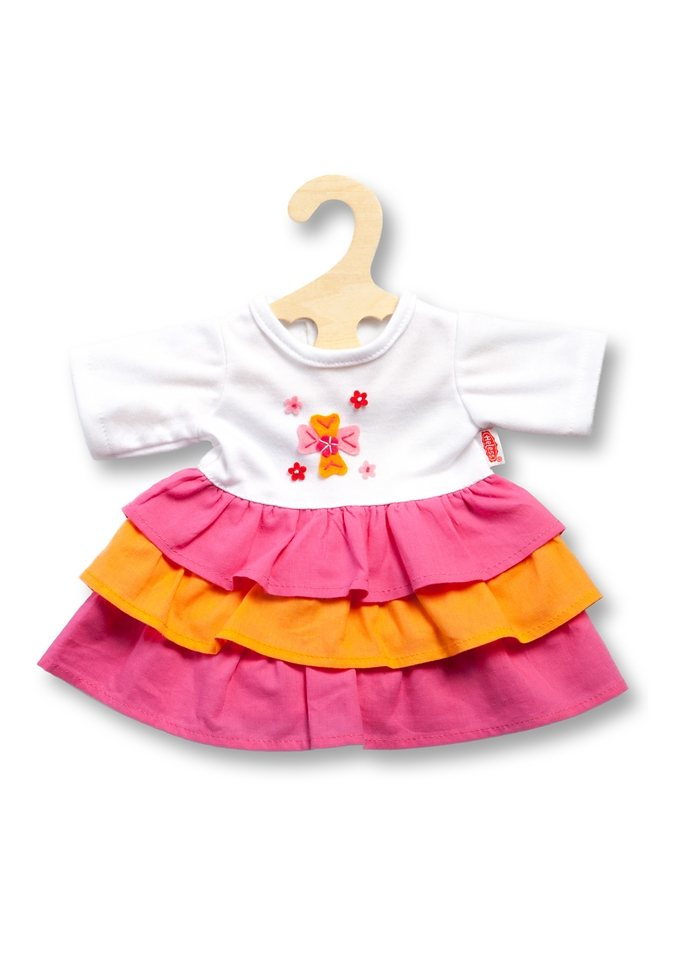 Heless® Puppenbekleidung Größe 28-35 cm o. 35-45 cm »Kleid Pinky« in rosa