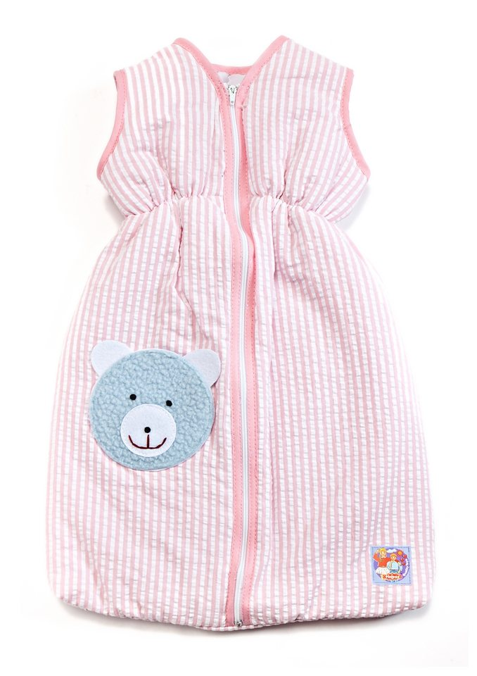 Heless® Puppenzubehör »Puppen-Schlafsack 50 cm« rosa in rosa