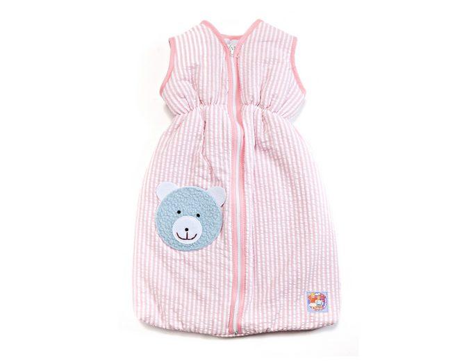 Heless® Puppenzubehör »Puppen-Schlafsack 50 cm« rosa