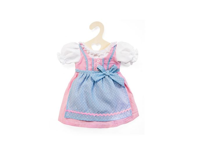 Heless® Puppenkleidung Größe 35-45 cm »Dirndl rosa-blau«