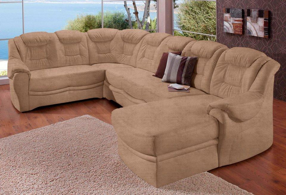 sit more wohnlandschaft wahlweise mit bettfunktion online. Black Bedroom Furniture Sets. Home Design Ideas