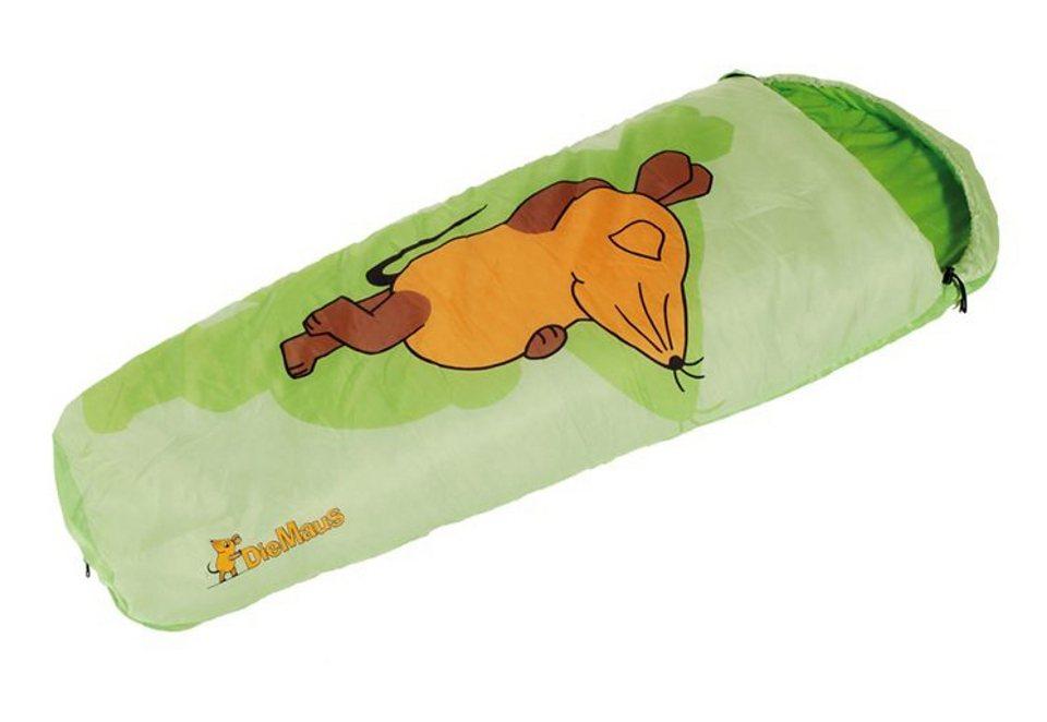 Royalbeach® Schlafsack für Kinder »Die Maus« in grün