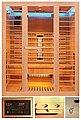 HOME DELUXE Infrarotkabine »Redsun L Deluxe«, 153x110x190 cm, Bild 1