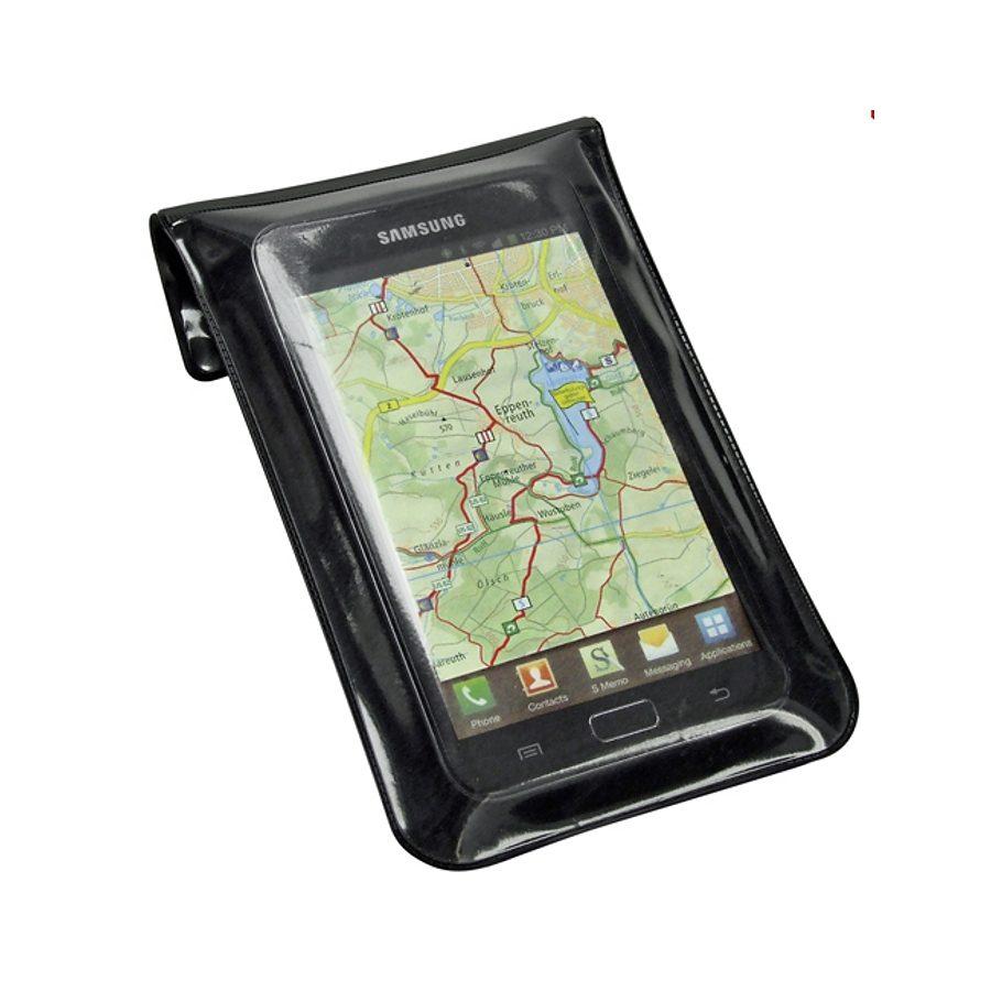 KlickFix Smartphone Halter »Phone Bag M schwarz«