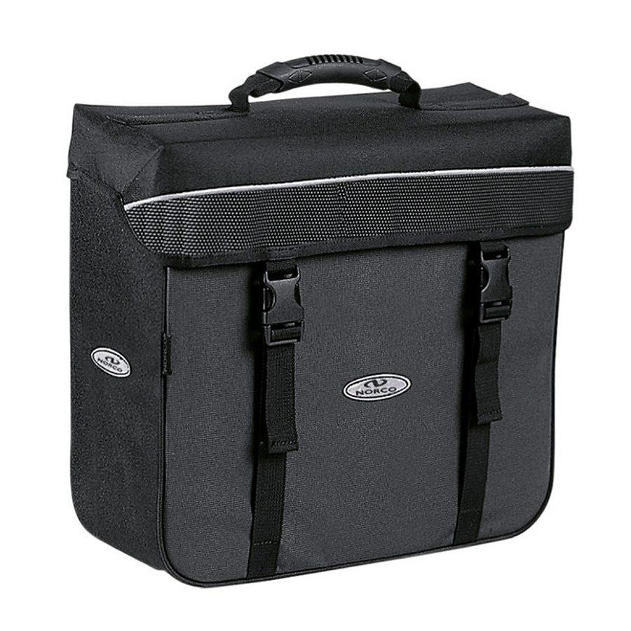 Norco Gepäckträgertasche »Orlando City-Box schwarz/grau«